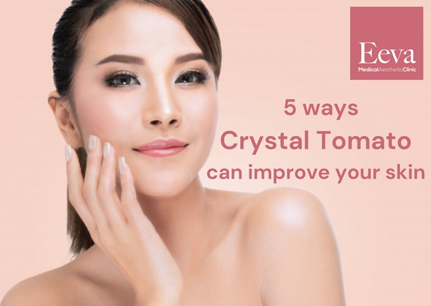 improve skin with crystal tomato whitening supplement