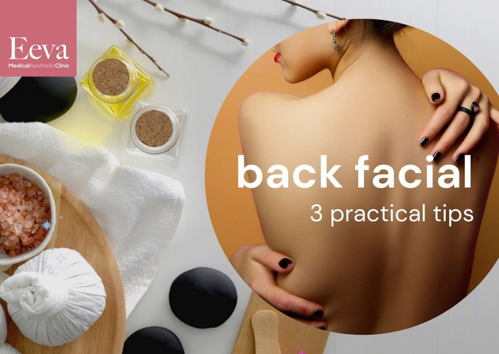 Back facial can cure your acne scars