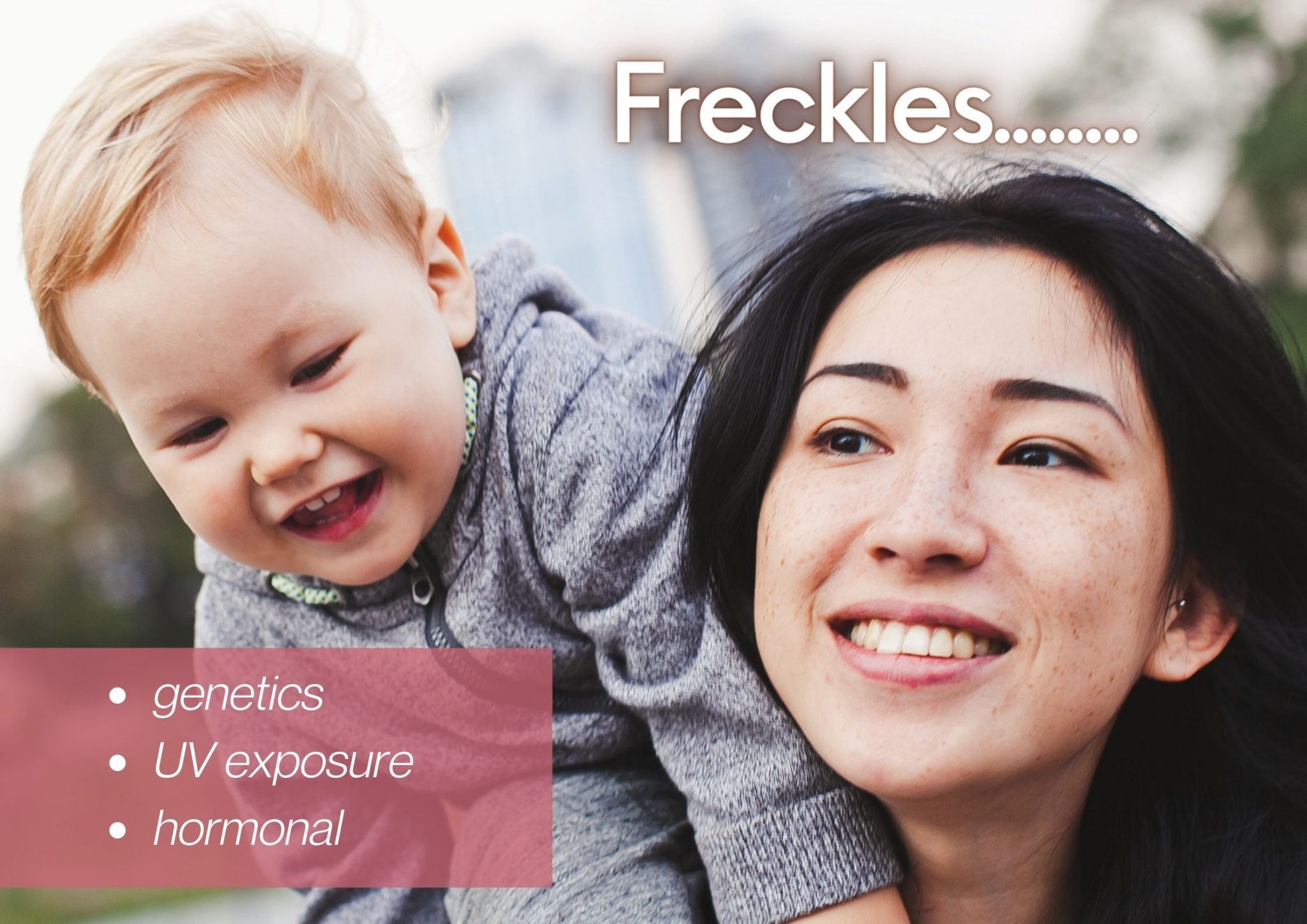 Freckles causes